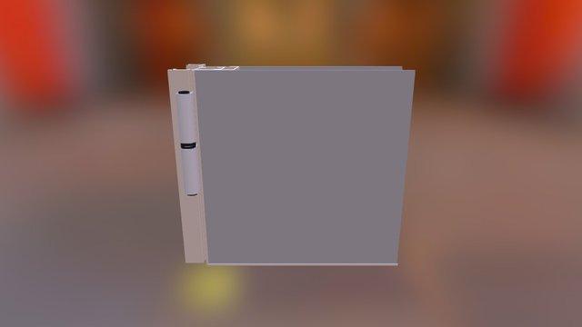 Puerta Placa 3D Model