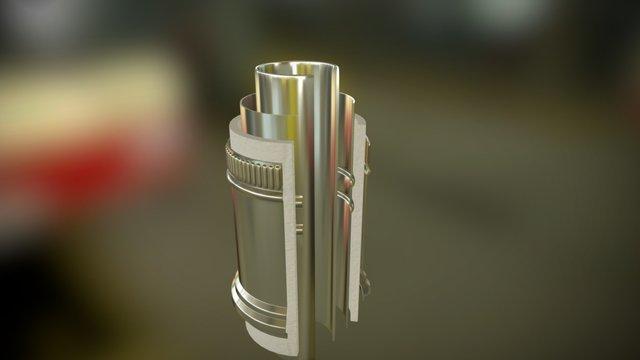 Tube (cuted) 3D Model