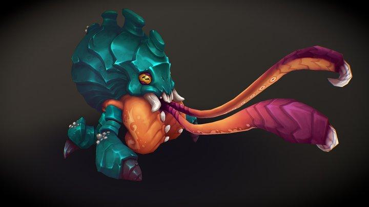 Crawler 3D Model
