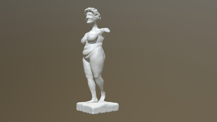 Body positive Venus 3D Model