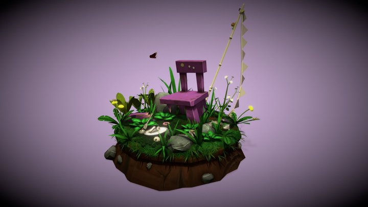 Once upon a time... 3D Model