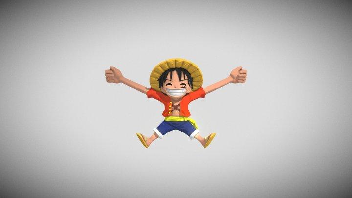 Luffy 3D Model