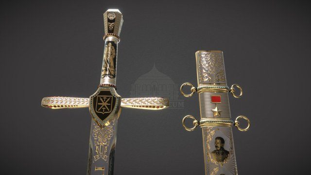 The Sword Of Victory 3D Model