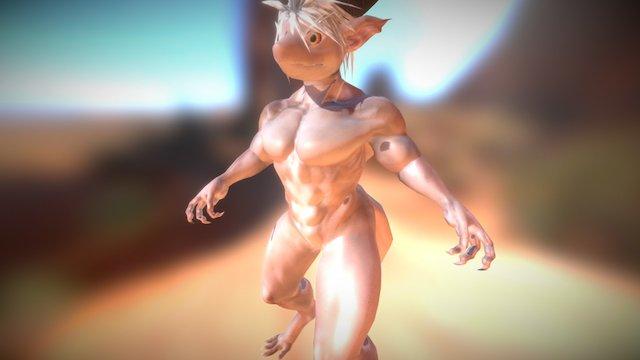 dragon man 3D Model