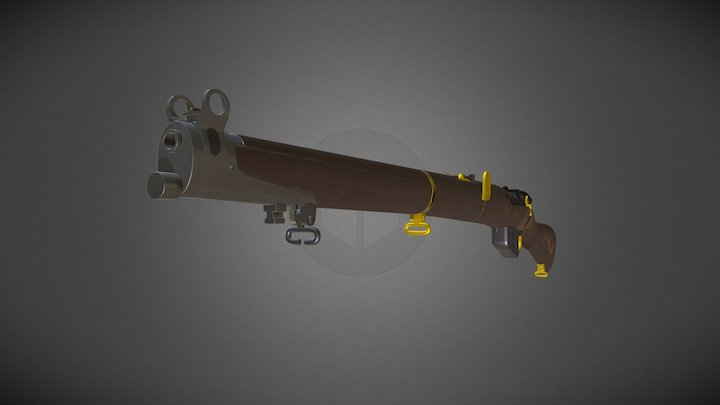 Lawrence of Arabia's SMLE 3D Model