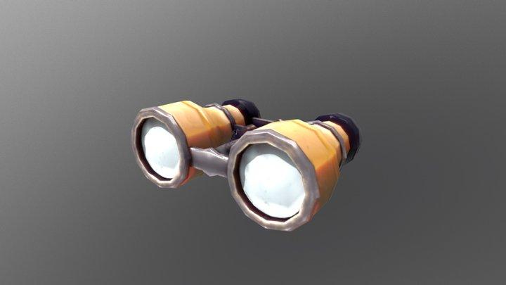 Hello Neighbor Binoculars 3D Model