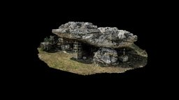 Dolmen of Avola (LQ and only exterior part) 3D Model