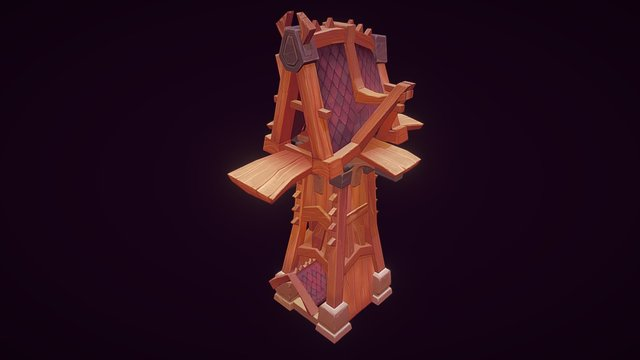 LP WoW tower 3D Model