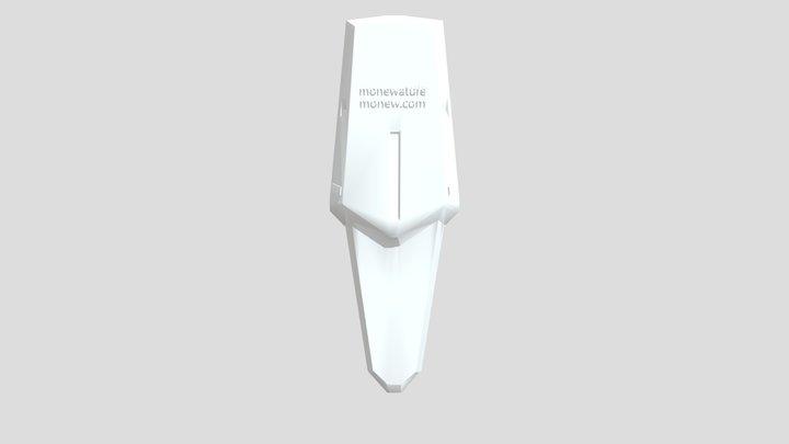 1/400 gundam collection rms117shield 3D Model