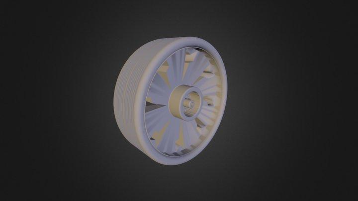גלגל דניאלה הניג 3D Model