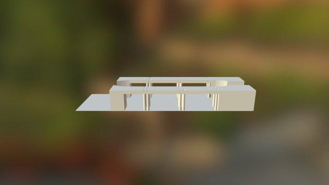 Tech Bus 3D Model