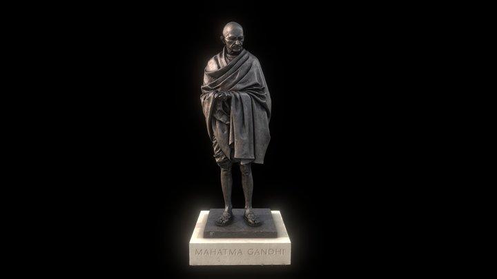Mahatma Gandhi 3D Model