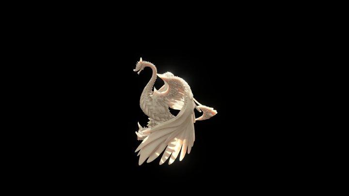 Le Dragon De L'abolition 3D Model