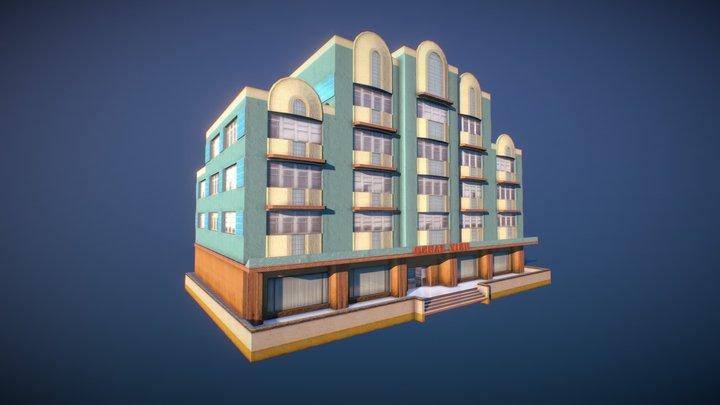 Ocean View hotel (GTA Vice City) 3D Model