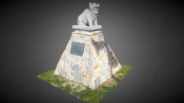 Estatua cerdito Cunit 3D Model