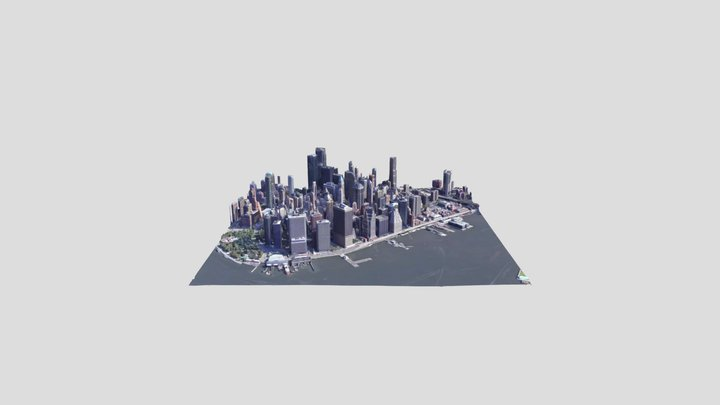 Mapme.io Sample of NYC 3D Model