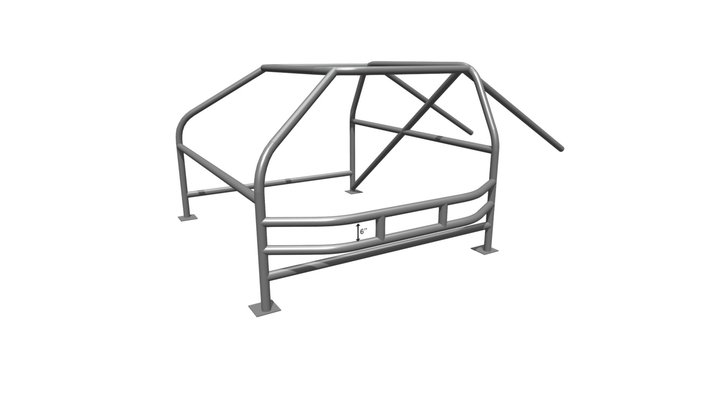Champ Cage 3D Model