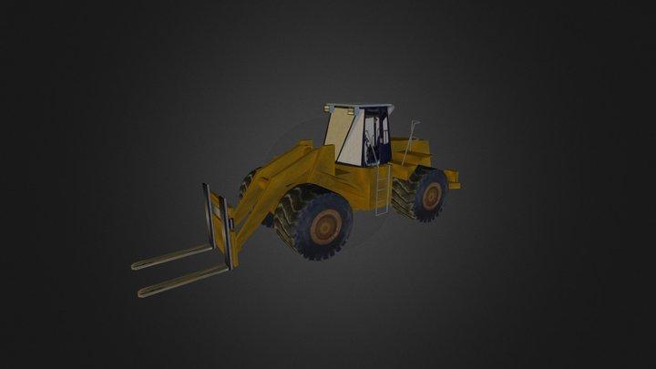 Gabelstapler Gross FR 3D Model