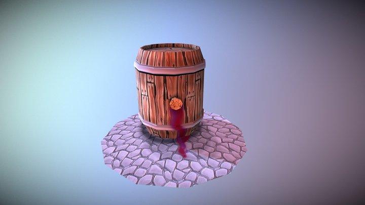 Barril 3D Model