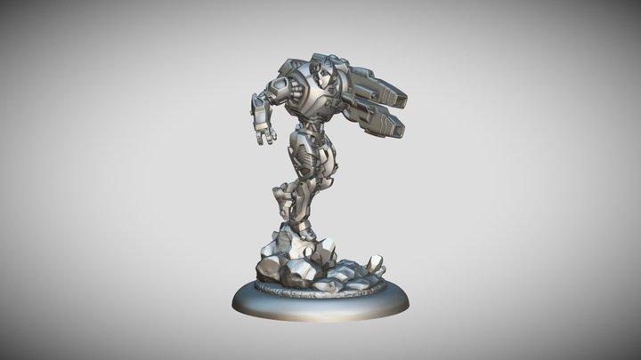 Star Scrappers: Bioss Equalizer 3D Model
