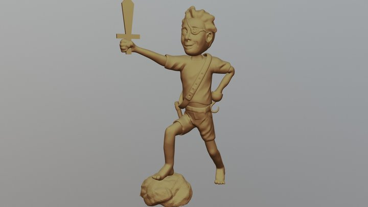 Day 7 Adventure 3D Model