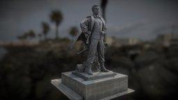 Soldier Statue, Cyprus 3D Model