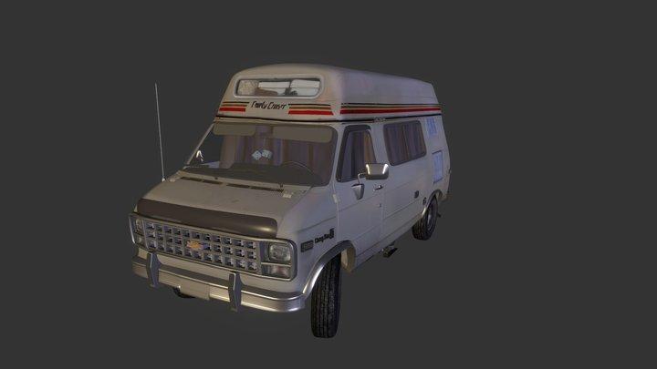 Chevrolet Van third generation 3D Model