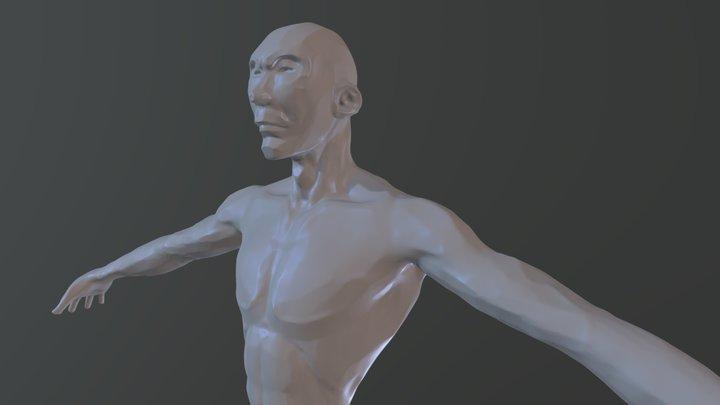 Rough guy 3D Model