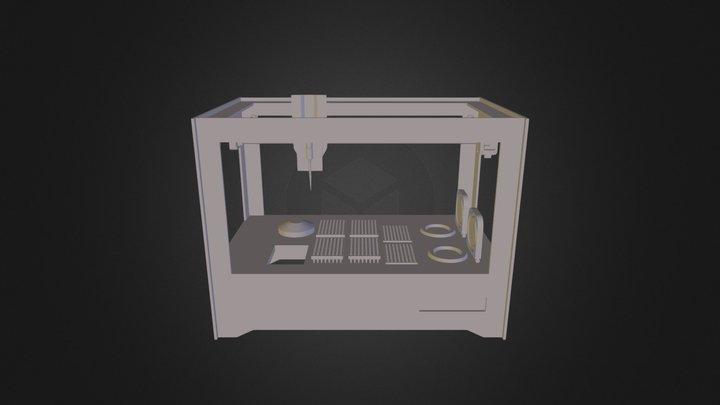 ArcturusBot 3D Model
