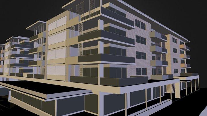 RESIDENTIAL DEVELOPMENT 3D Model