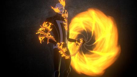 Ghost Rider - Robbie Reyes 3D Model