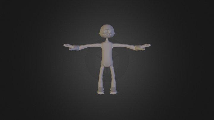 Average Joe by Kamil 3D Model