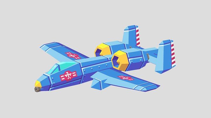 Pixelbolt II 3D Model
