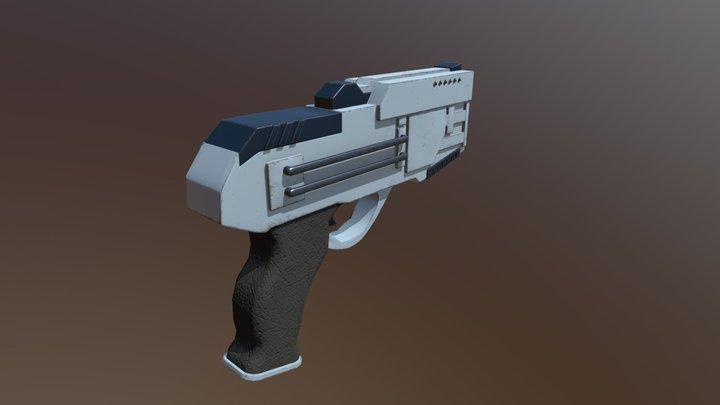 Handblaster 3D Model