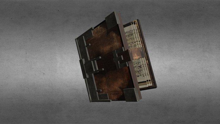 Magic Book - Minecraft 3D Model
