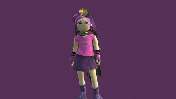 The Queen of the Trash Realm 3D Model