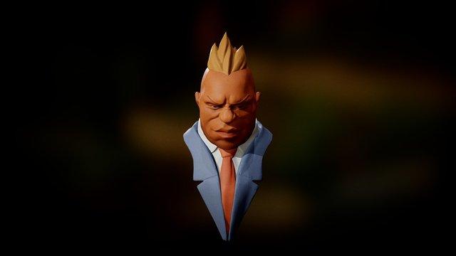 Boman by @ucupumar 3D Model