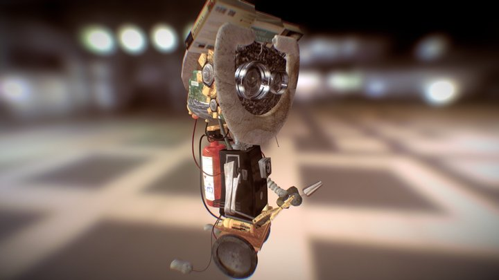R for Robot R for Recycling  3D Model
