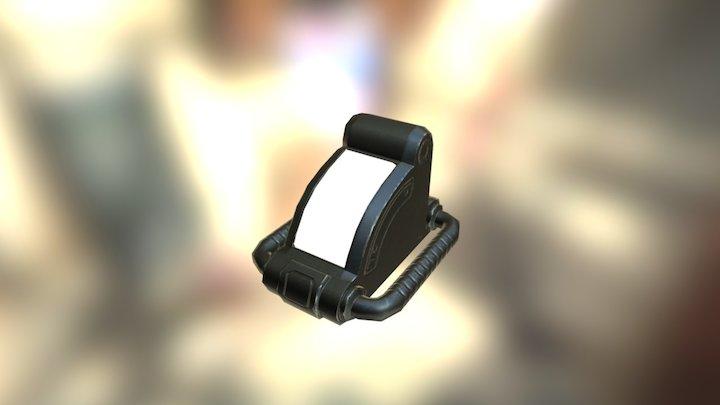SciFi Light 15 3D Model