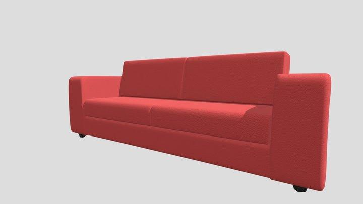 sofa2Plazas 3D Model