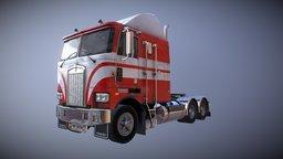 USA Truck 3D Model