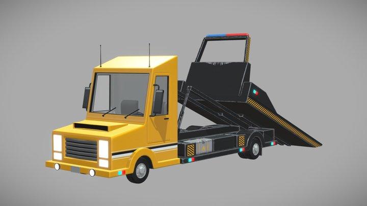 Tow_Truck 3D Model