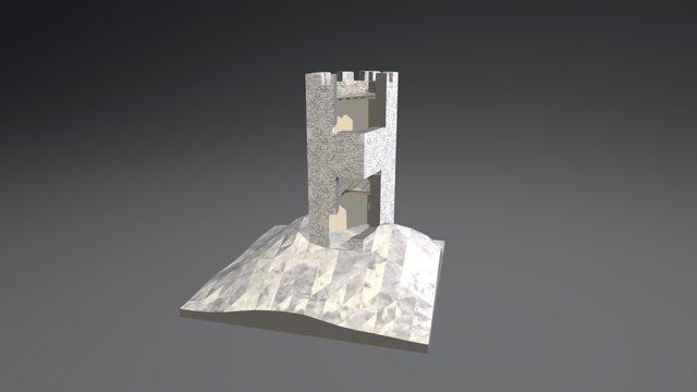 Torre di Roccapreturo 3D Model