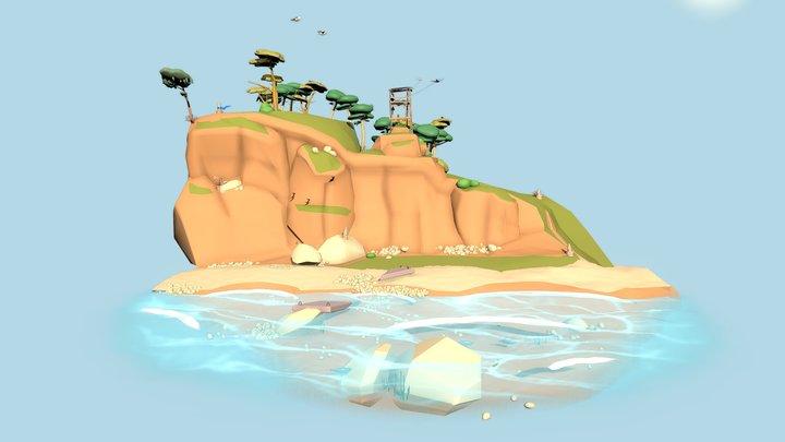 XYZ Challenge - My little world - Final day 3D Model