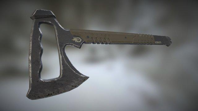 Downrange Tomahawk 3D Model