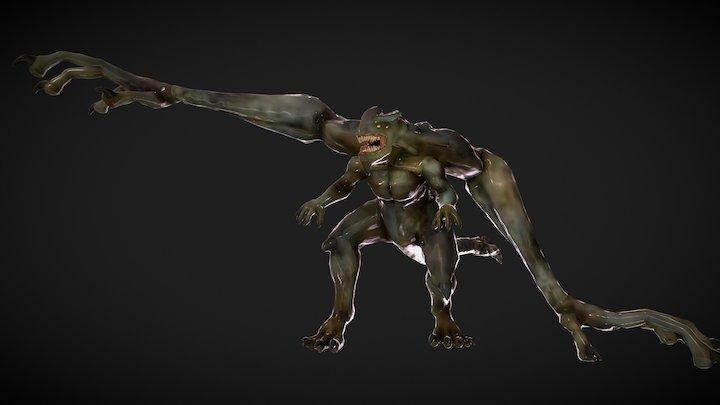 Tenaga Kaiju 3D Model
