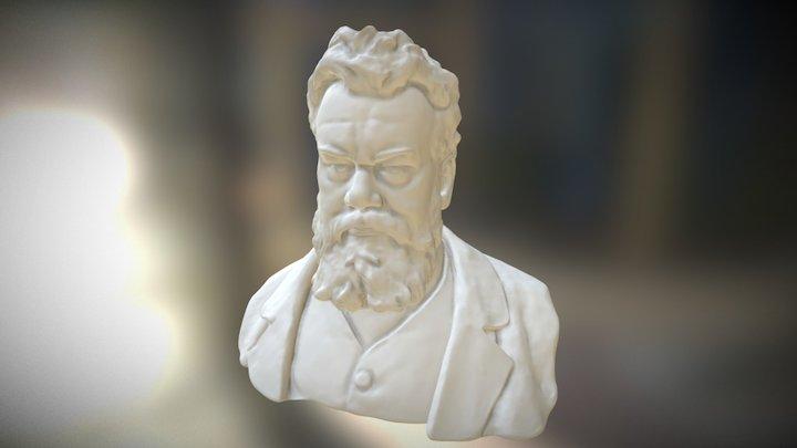 Ludwig Boltzmann bust 3D Model