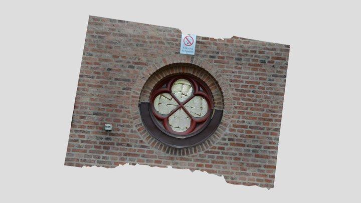 S:t Johanneskyrkans fönster 3D Model