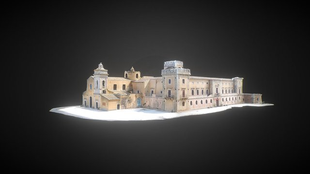 Castello di Biscari 3D Model