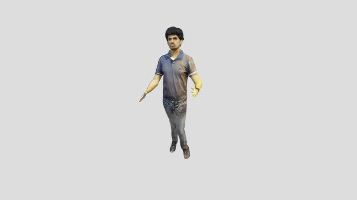AM Freestyle dance 3D Model